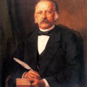 Porträt von Theodor Fontane